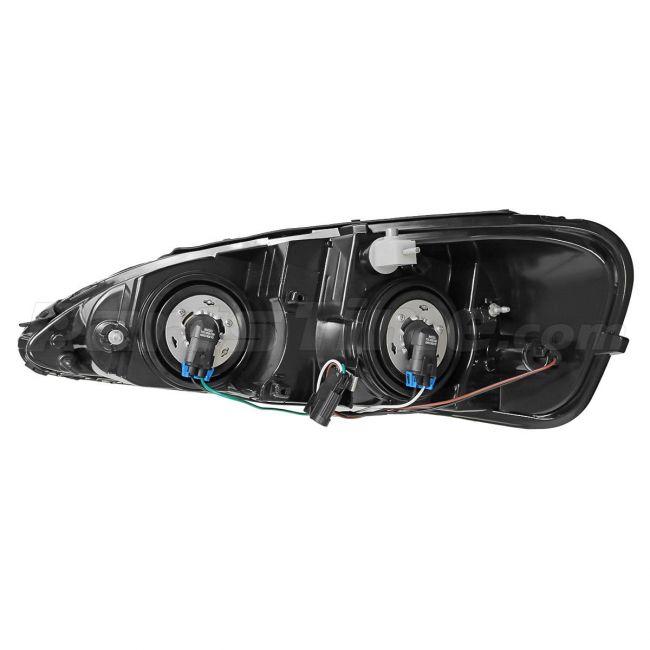 Partsam Passenger Side Right Rh Hand Halogen Headlight Headlamp Assembly Replacement For Pontiac